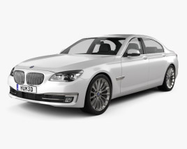 3D model of BMW 7 Series (F02) 2013