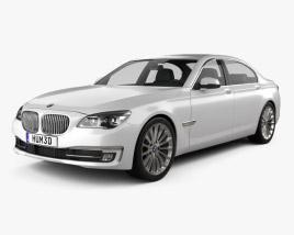 3D model of BMW 7 Series (F02) 2013