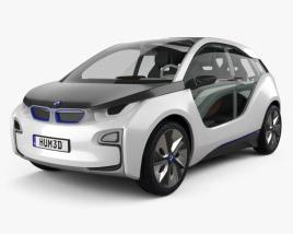 3D model of BMW i3 concept 2012