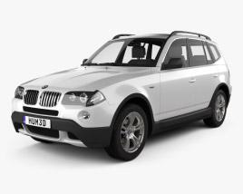 3D model of BMW X3 (E83) 2003