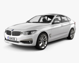 3D model of BMW 3 Series Gran Turismo (F34) 2013