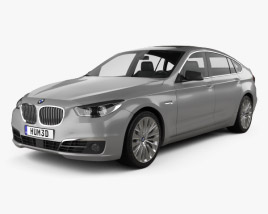 3D model of BMW 5 Series (F07) Gran Turismo 2014