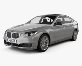 3D model of BMW 5 Series (F07) Gran Turismo 2014