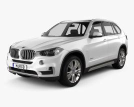 3D model of BMW X5 (F15) 2014