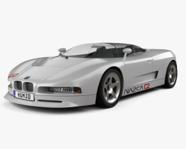 3D model of BMW Nazca C2 1991