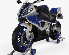 3D model of BMW HP4 2013