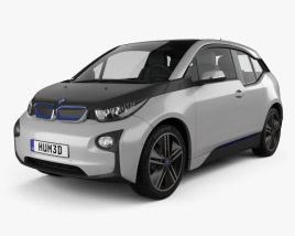 3D model of BMW i3 2014