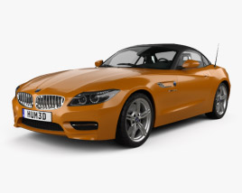 3D model of BMW Z4 (E89) roadster 2013