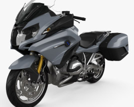 3D model of BMW R1200RT 2014
