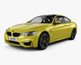 3D model of BMW M4 (F82) 2014
