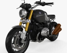 3D model of BMW R nineT 2014