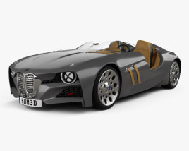 3D model of BMW 328 Hommage 2011