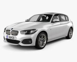 3D model of BMW 1 Series (F20) 5-door M Sport Package 2015