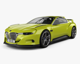 3D model of BMW 3.0 CSL Hommage 2015