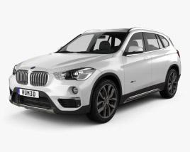 3D model of BMW X1 (F48) 2015