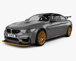 3D model of BMW M4 GTS Concept 2015