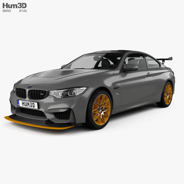 3D model of BMW M4 GTS Concept 2015