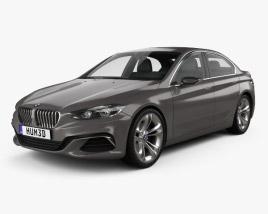 3D model of BMW Compact Sedan 2015