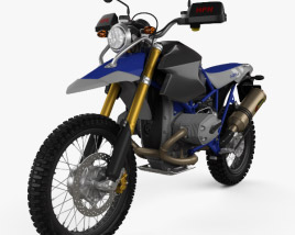 3D model of BMW HP2 HPN Enduro 2015