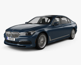3D model of BMW 7 Series (G12) B7 Alpina 2017
