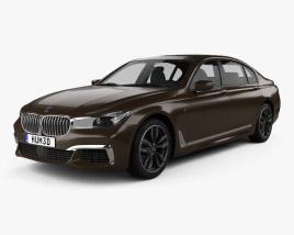3D model of BMW M7 (G12) 2017