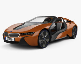3D model of BMW i Vision Future Interaction 2016