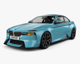 3D model of BMW 2002 Hommage 2016