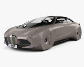 3D model of BMW Vision Next 100 2016