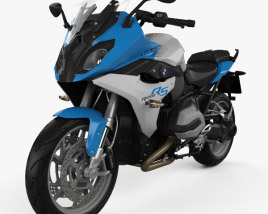 3D model of BMW R1200RS 2015