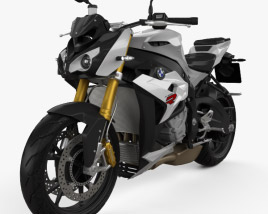 3D model of BMW S1000R 2015