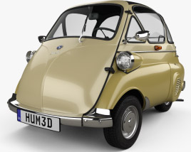 3D model of BMW Isetta 250 1955