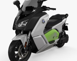 3D model of BMW C Evolution 2014