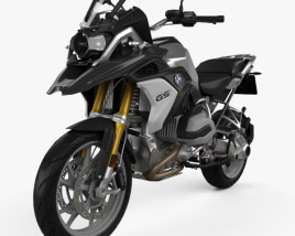 3D model of BMW R1200GS 2017