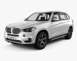 3D model of BMW X5 (F15) e 2014