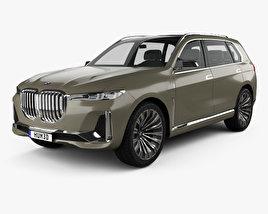 3D model of BMW X7 concept 2017