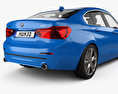 BMW 1 Series (F52) Sport Line sedan 2017 3d model
