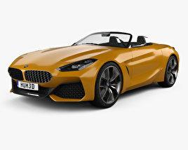3D model of BMW Z4 concept 2017