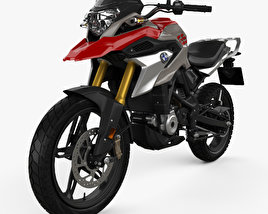 3D model of BMW G310GS 2017