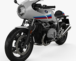 3D model of BMW R nineT Racer 2017
