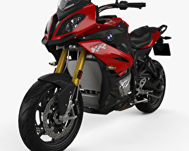 3D model of BMW S1000XR 2017