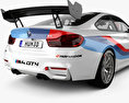 BMW M4 (F82) GT4 coupe 2017 3d model