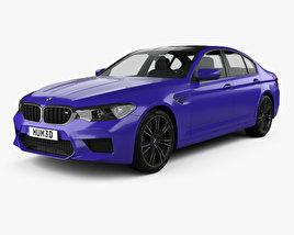 3D model of BMW M5 sedan 2017