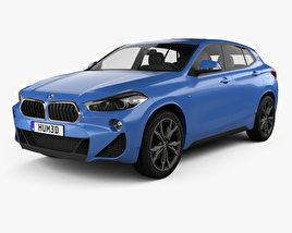 3D model of BMW X2 M Sport 2018