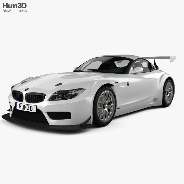3D model of BMW Z4 GT3 2010