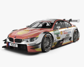 3D model of BMW M4 (F82) DTM Shell 2017