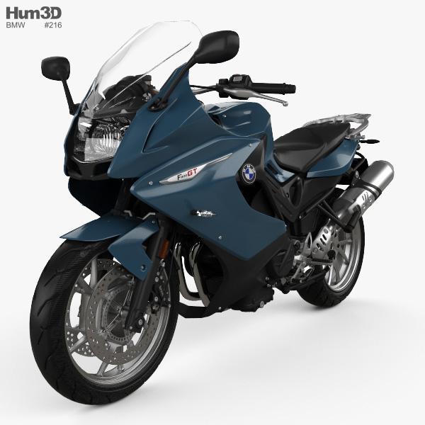 3D model of BMW F800GT 2018