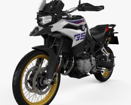 3D model of BMW F 850 GS 2018