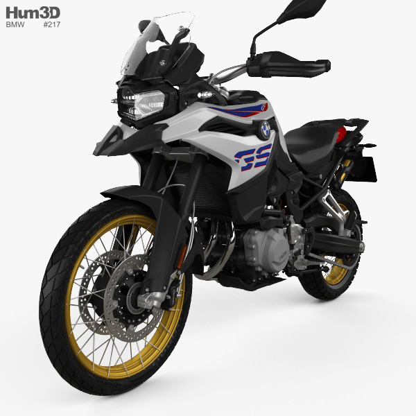 3D model of BMW F850GS 2018