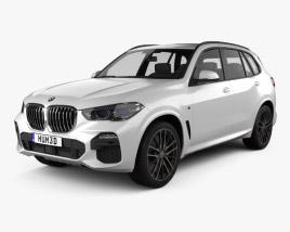 3D model of BMW X5 (G05) M sport 2019