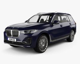 3D model of BMW X7 (G07) 2019
